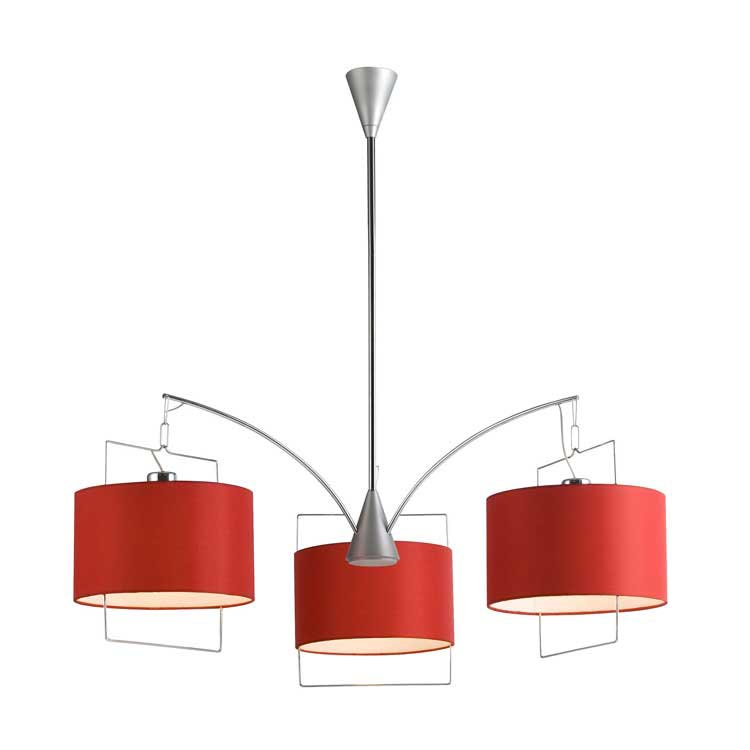 Red Drum Pendant Light Fixture