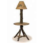 Rustic Lodge Floor Lamps