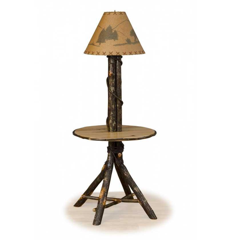 Rustic Lodge Floor Lamps