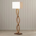 Rustic Wood Floor Lamps