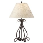 Rustic Wrought Iron Floor Lamps
