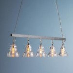 Seeded Glass Chandelier Globes
