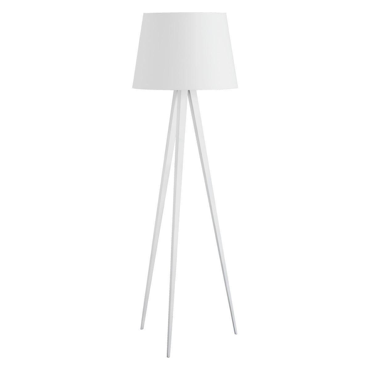 Silver Tripod Floor Lamp