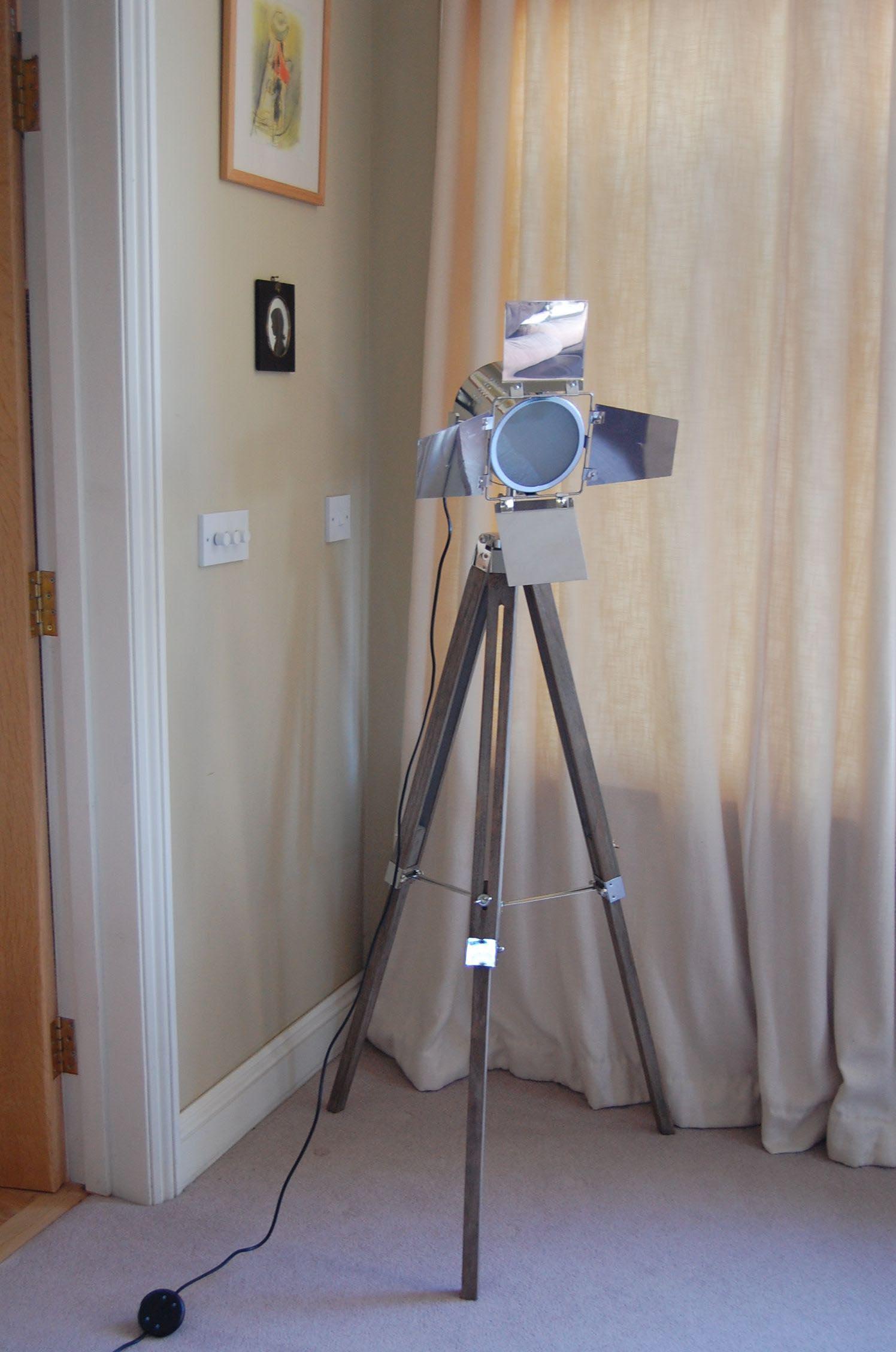 Spotlight Floor Lamp Tripod