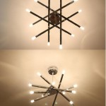 Star Ceiling Light Fixture