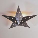 Star Flush Mount Ceiling Light