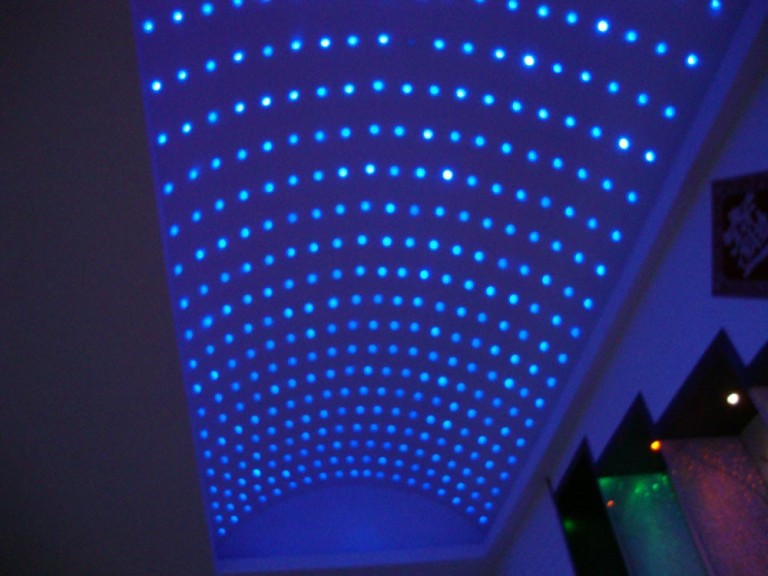 Star Lights on Ceiling