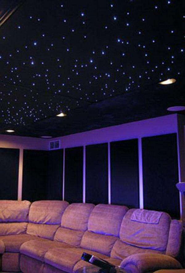 Stars on Ceiling Light