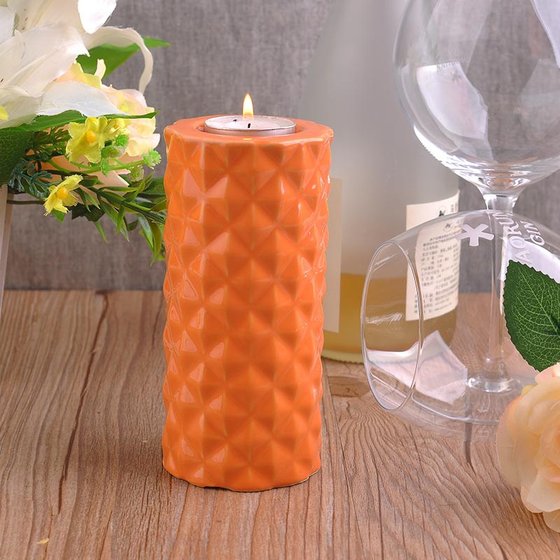 Tall Cylinder Candle Holders
