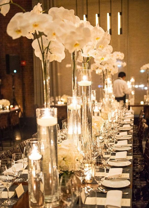 Tall glass candle holders centerpieces light fixtures