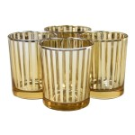 Tall Glass Votive Candle Holders