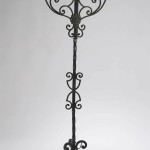 Tall Iron Candle Holders