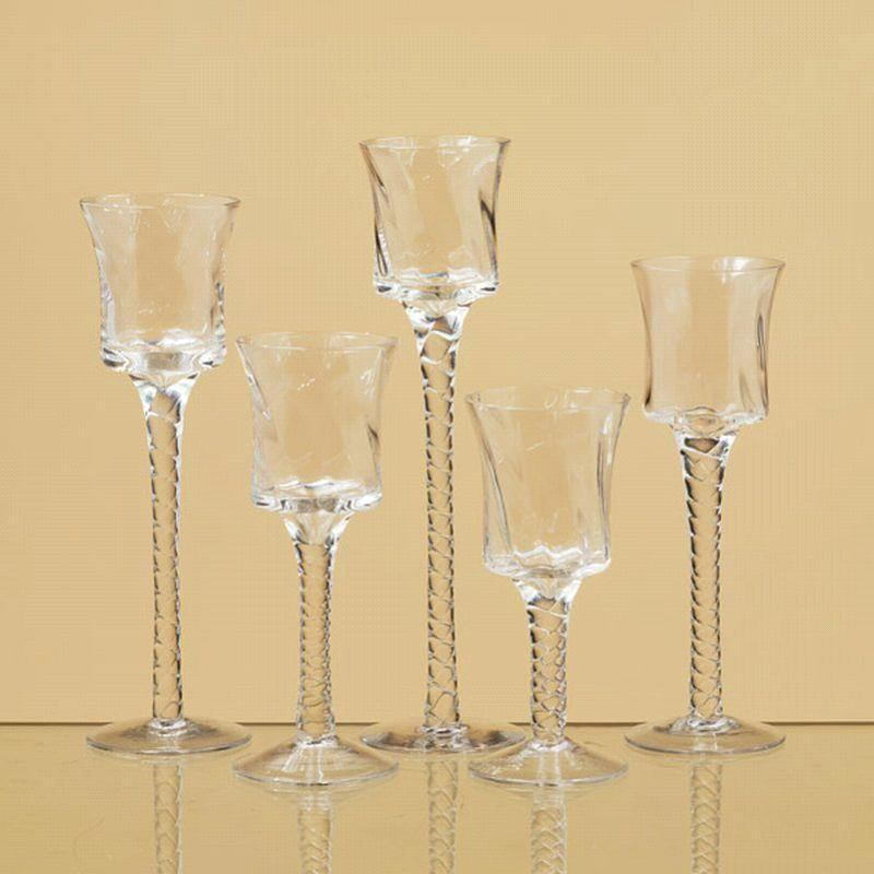 Tier Glass Candle Holders