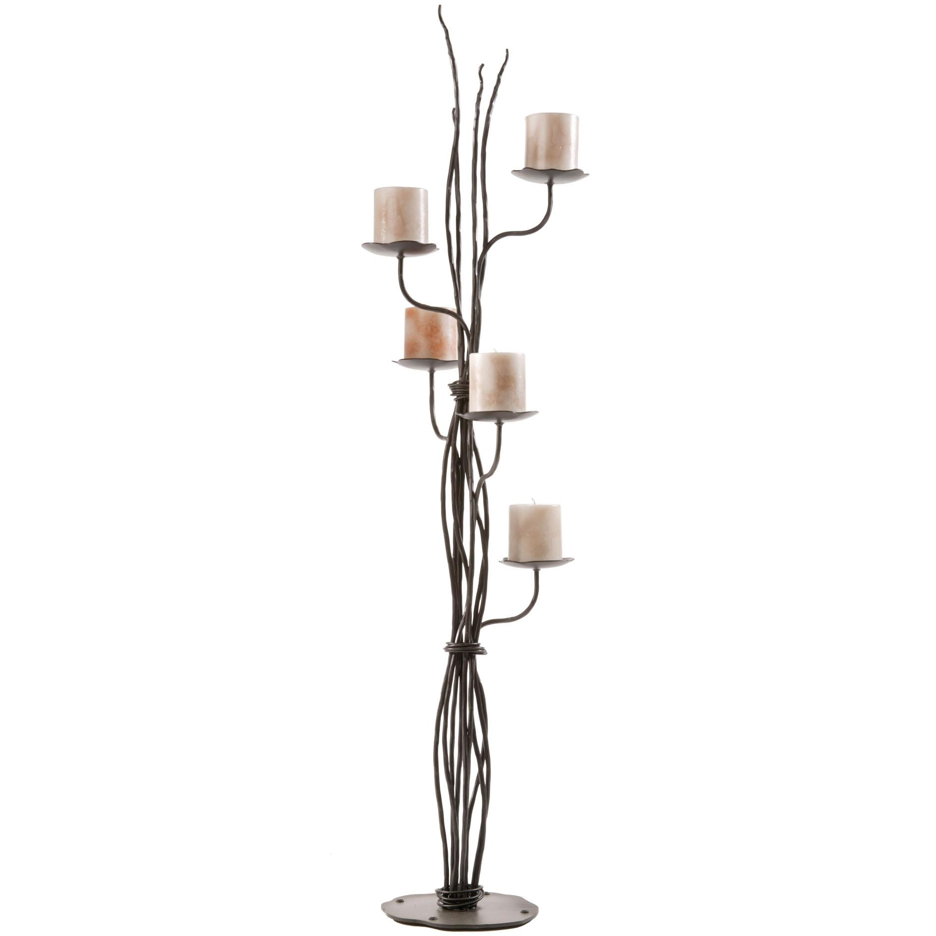 Tall Wrought Iron Candle Holders