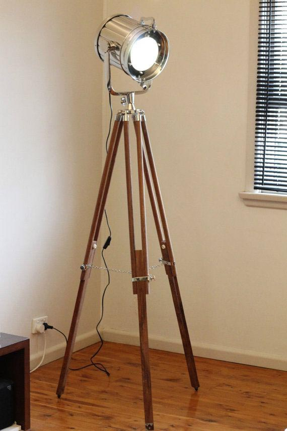 Tripod Floor Lamp Nautical