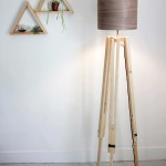 Tripod Floor Lamp Wood