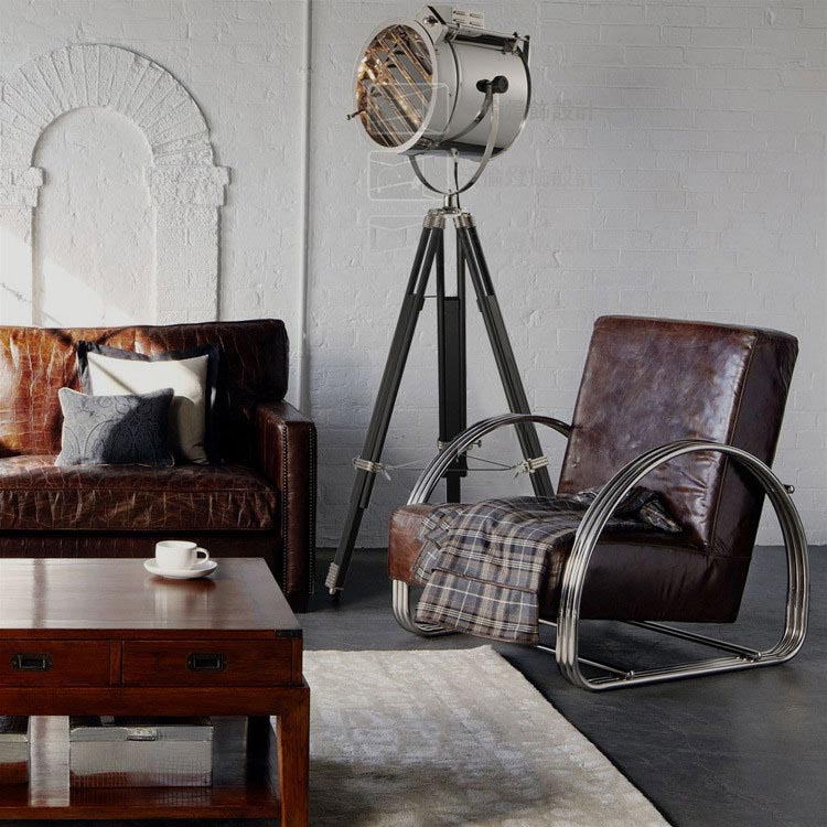 Tripod Spotlight Floor Lamp