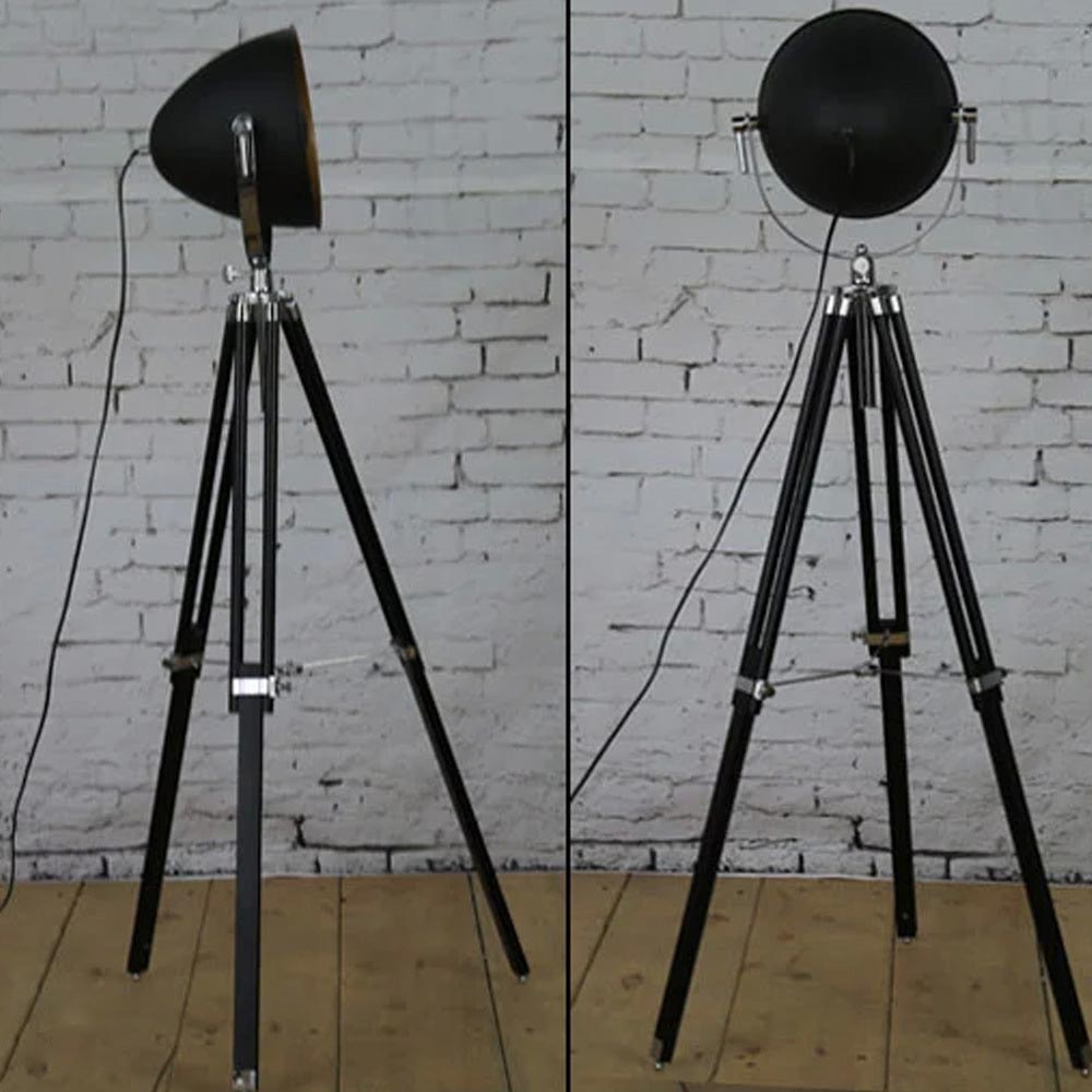 Tripod studio floor lamp light fixtures design ideas for Winston studio spotlight floor lamp on tripod