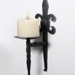 Wall Mounted Hurricane Candle Holders
