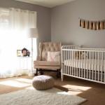 White Floor Lamp Nursery