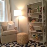 White Nursery Floor Lamp