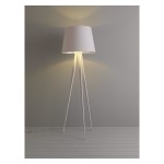 White Tripod Floor Lamp