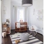 White Wood Floor Lamp Nursery
