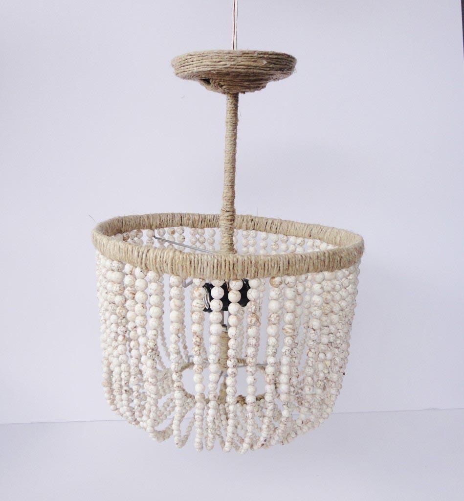 Wood bead chandelier diy light fixtures design ideas wood bead chandelier diy mozeypictures Gallery